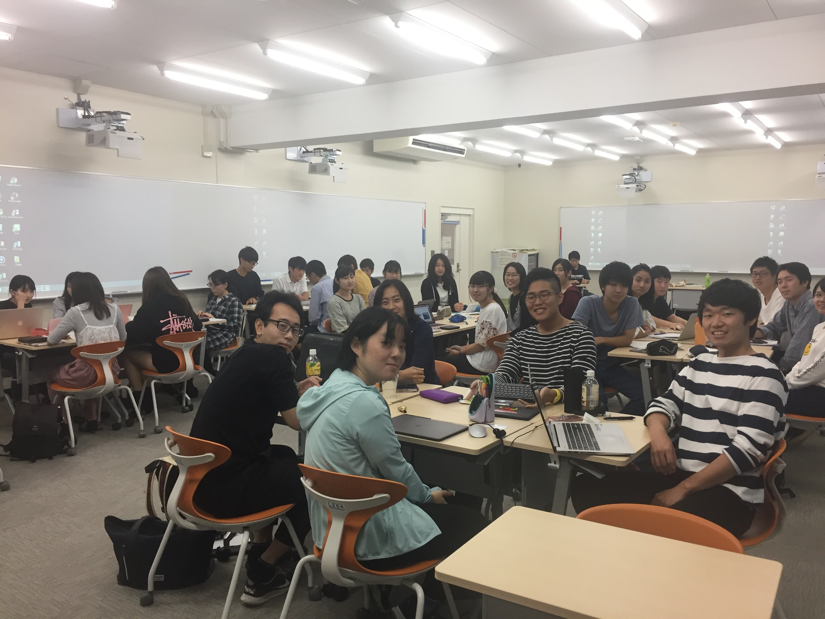 English and tourism class at Shizuoka University