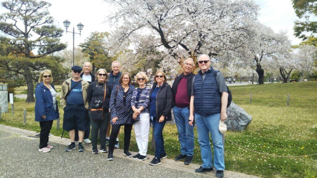 Sumpu Castle Park in Shizuoka City