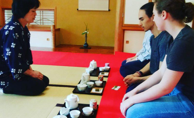 tea lecture at Chameikan
