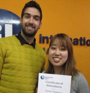 Kurumi, an internship student