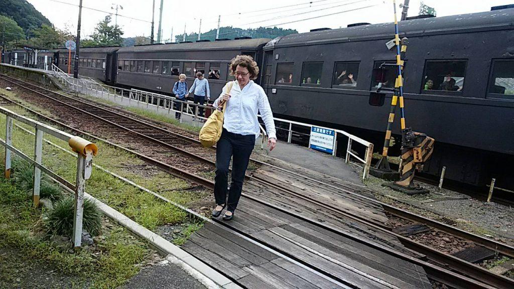 steam locomotive of oigawa railway
