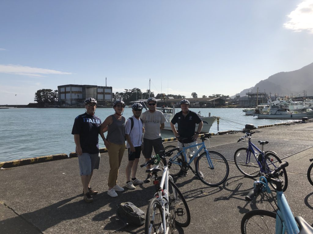 guided bike tour in shizuoka