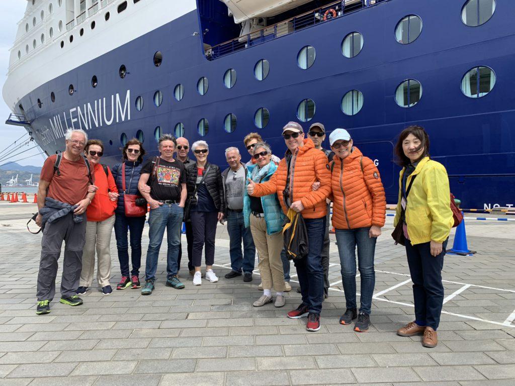 Norwegian cruise guests