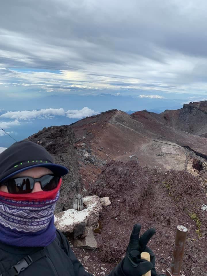 Norwegian traveler Mt.Fuji