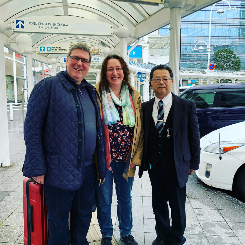 guest from germany to shizuoka