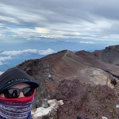 top of the Mt.Fuji