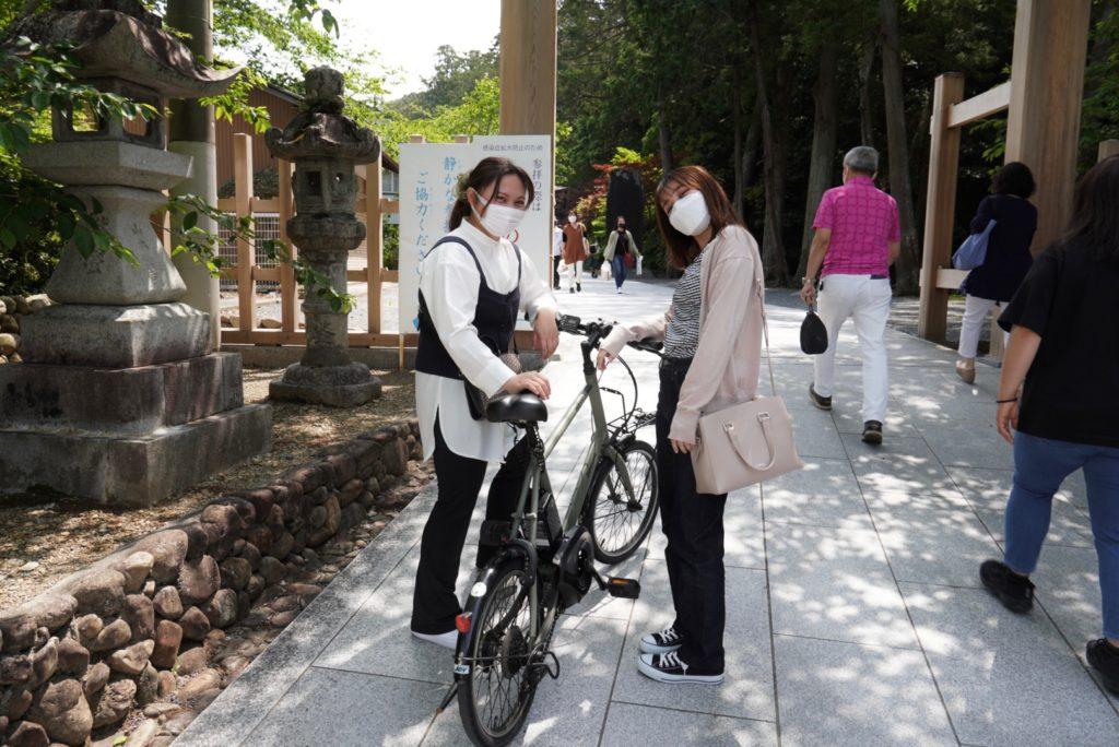Hattasan by bike