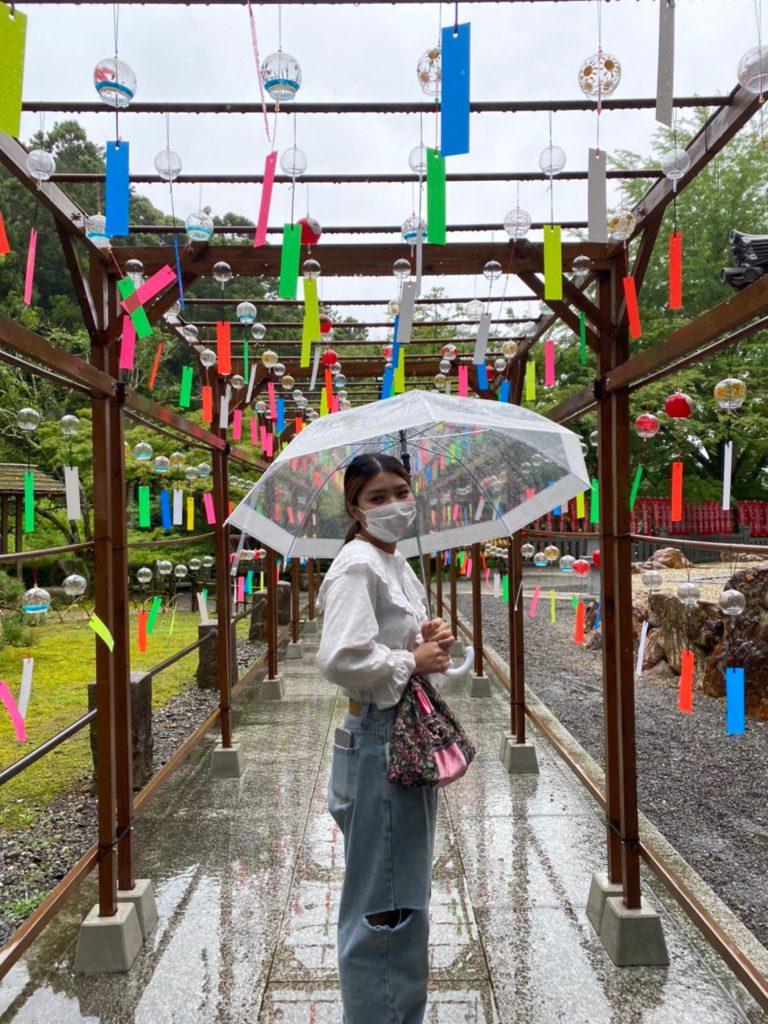 wind bell festival at Hattasan Temple